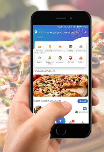 Food delivery app for your business