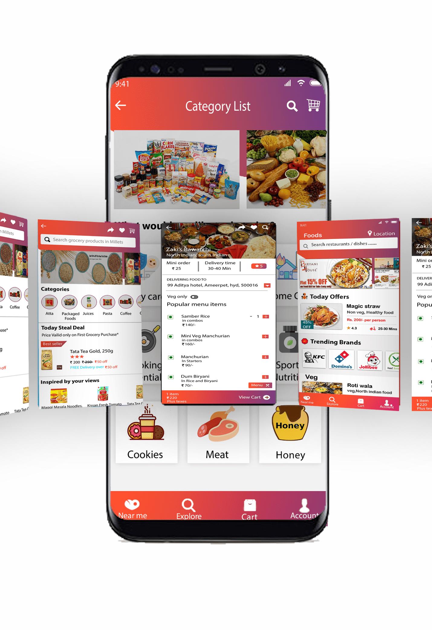 Food delivery app development solution - Techweblabs