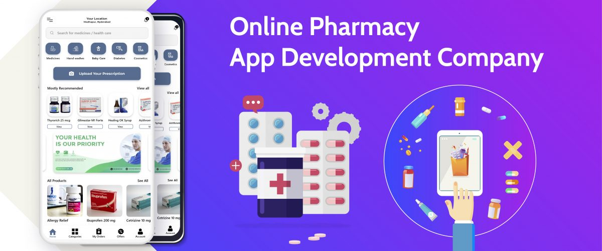 online pharmacy app development