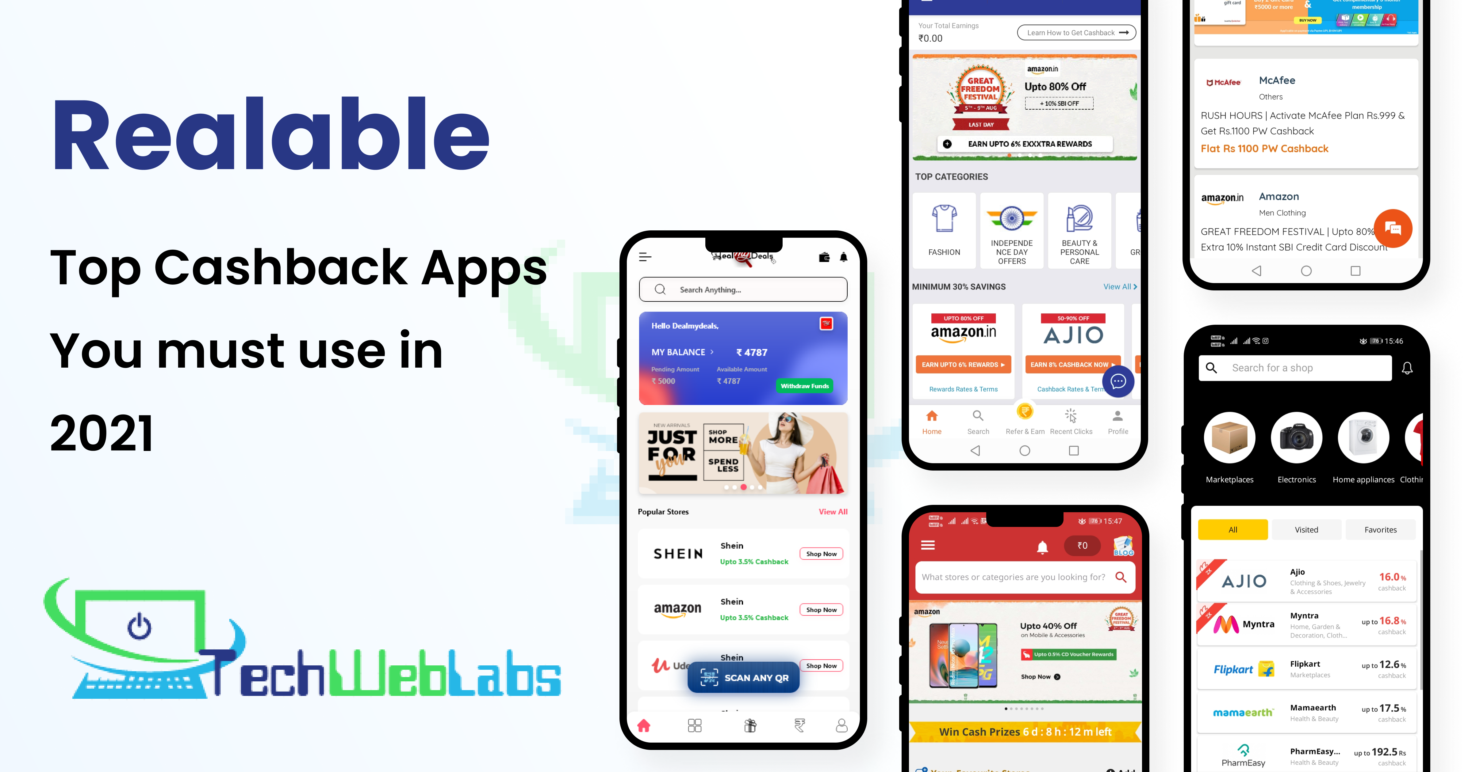 Reliable Top Cashback Apps You Must Use