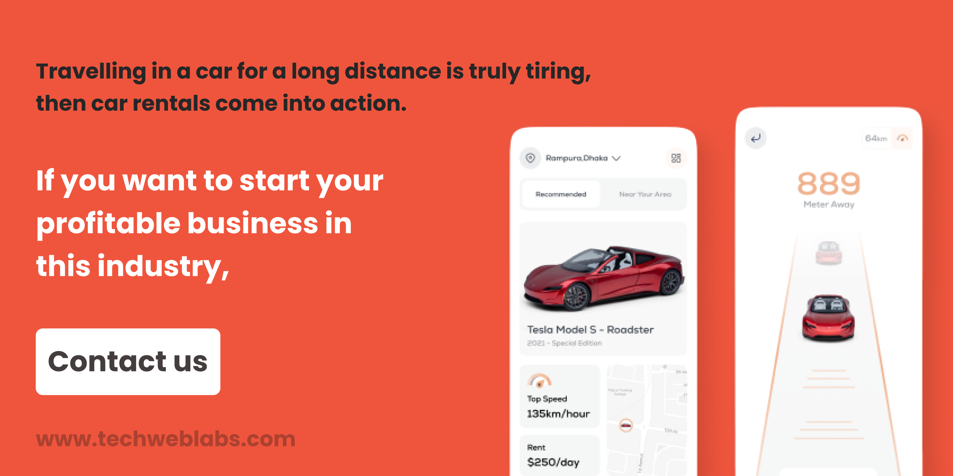 , Want to start a Car Rental Business? Read this to know more., Techweblabs - Web Development | Mobile App Development | Hyderabad