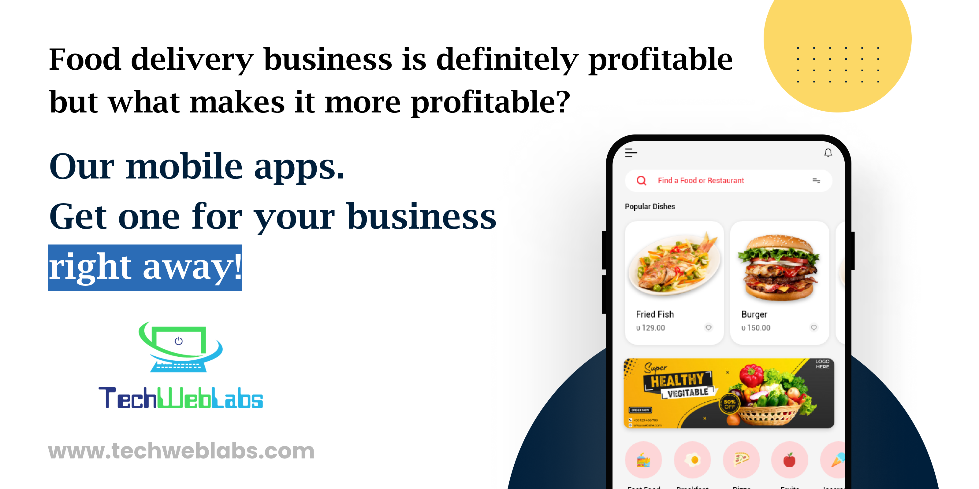 , Are food delivery services Profitable? It's Pros and Cons., Techweblabs - Web Development | Mobile App Development | Hyderabad